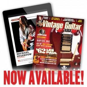 Vintage Guitar Mag Aug 2104